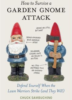 Garden Gnome Attack Book