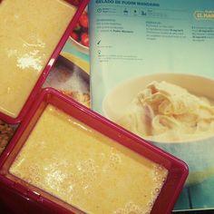 Mundo de Yoshi - gelado de pudim mandarim