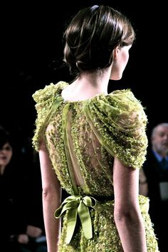Elie Saab--the detail on those sleeves!