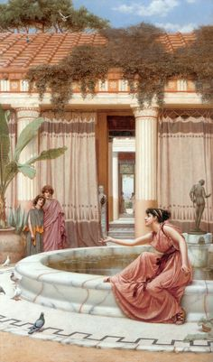 Innocent Amusements - John William Godward
