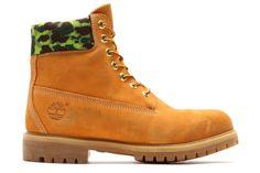 """atmos x Timberland 6"""" Boot """"Camo"""" http://hypebeast.com/hb1nutv"""