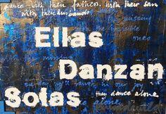 Ruud de Wild - Ellas Danzan Solas  100 x 70 cm. Unica. Excellent Art Utrecht