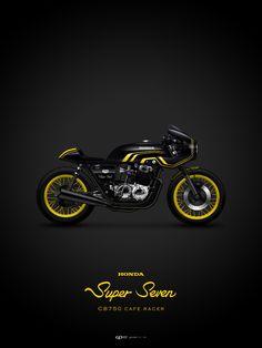 """""""Super Seven"""" Honda CB750"""