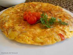 Receita Tortilha de chouriço e cogumelos, de 7gramasdeternura - Petitchef
