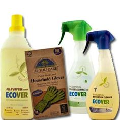 Get cleaning with green cleaning products fro ecover  $18.50 - http://www.greendeals.org/natural-spring-cleaning-supplies