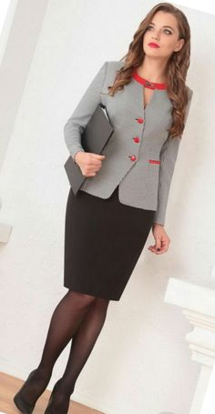 Very Lovely Skirts, Skirtsuits, and Dresses Womens Dress Suits, Suits For Women, Blouses For Women, Office Dresses For Women, Dresses For Work, Casual Dresses, Fashion Dresses, Business Dresses, Professional Outfits