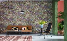 Singita (109/7035) wallpaper from The Ardmore Collection, £295 per roll, cole-and-son.com