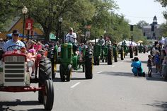 Whats a parade without tractors! Western Welcome Week, Littleton, CO