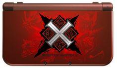 3DS「モンスターハンタークロス」Newニンテンドー3DS LLデザイン