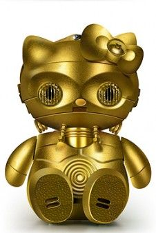 Hello Kitty C3PO
