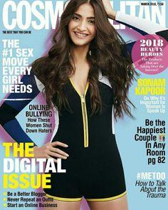 Sonam kapoor in magazine cover
