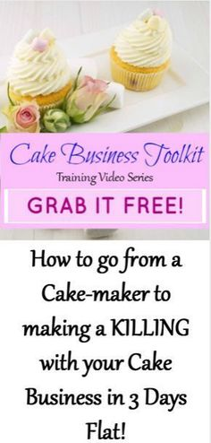 Cake Business Toolkit: How to go from a Cake-maker to making a KILL. Home Bakery Business, Baking Business, Home Baking, Baking Tips, Pastry Cook, Pastry Art, Cake Templates, Cake Pricing, Cake Online