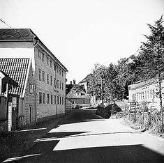 På veien mot Måseskjæret og Gamle Bergen ca 1960. (Foto: Gustav Brosing – Billedsamlingen Marcus UiB).