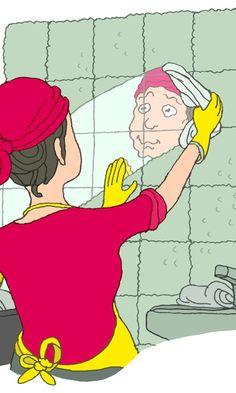 Kaakelit puhtaaksi   Meillä kotona Bokashi, Tool Organization, Organizing Tools, Cleaning Hacks, Life Hacks, Disney Characters, Fictional Characters, Family Guy, Gardening