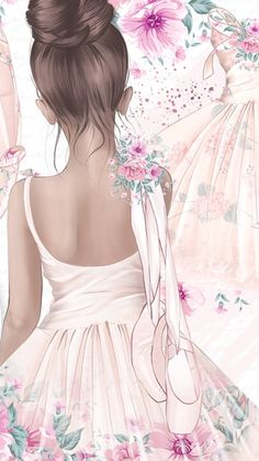 Super wedding pictures must have first dance beautiful Ideas Super wedding pictures must have first dance beautiful Ideas Ballet Painting, Ballet Art, Ballerina Kunst, Ballerina Drawing, Ballerina Nursery, Ballet Drawings, Dance Photography, Cute Drawings, Cute Wallpapers
