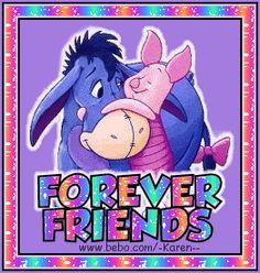 Piglet and Eeyore Winnie The Pooh Christmas, Cute Winnie The Pooh, Winnie The Pooh Quotes, Winnie The Pooh Friends, Baby Disney Characters, Disney Pixar, Cartoon Characters, Pooh Bear, Tigger