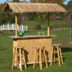 16 Smart and Delightful Outdoor Bar Ideas to Try | Tiki bars, Bar ...