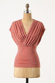 Want to try and DIY this anthro top.