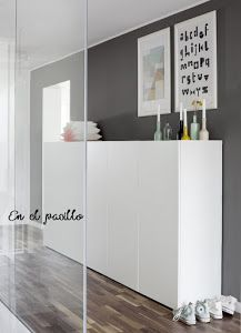 Gerenoveerde bungalow in Oostenrijk - The most beautiful home decor list Ikea Living Room, Interior Design Living Room, Small Hallways, Cabinet Decor, Home And Living, Home Furniture, Home Goods, House Design, Home Decor