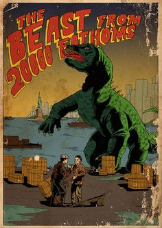 The beast from 20 000 fathoms by Alexander Cherepanov