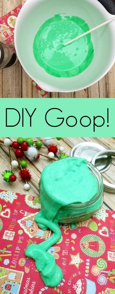 DIY Sensory Goop Recipe | The Jenny Evolution