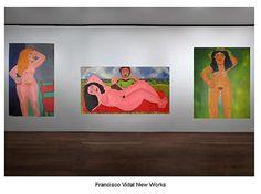 Francisco Vidal New Works -