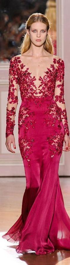 BORDEAUX & RED DRESS