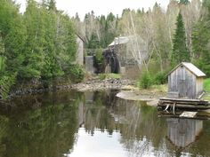 The beautiful stone mill at Kings Landing www.kingslanding.nb.ca