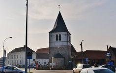 Eglise à LABOURSE. Pas de calais.2) Le collatéral N de la nef a disparu, il était vraisemblablement du 17°s.