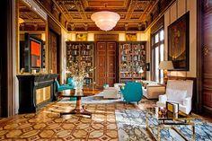 Peek inside Barcelona's Cotton House Hotel