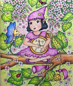 Adult Coloring, Coloring Books, Coloring Pages, Colouring, Princess Peach, Princess Zelda, Autumn Illustration, Markova, Prismacolor