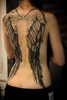 Angel Wings TattooYou can find Wing tattoos and more on our website. Angle Wing Tattoos, Wing Tattoo Arm, Fairy Wing Tattoos, Angel Wings Tattoo On Back, Wing Tattoos On Back, Back Tattoo Women, Tattoos For Women, Tattoo Wings, Images Of Tattoos