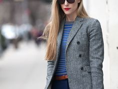 New York Fashion Week Street Style F/W 2012 (from Marie Claire)