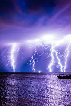 Sea storm Bali Indonesia