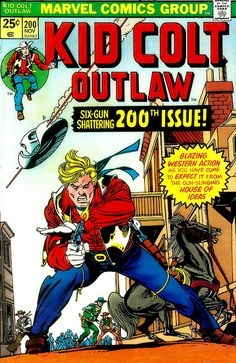 Kid Colt 200 Cover - Gil Kane