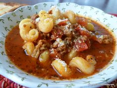 Lasagna Soup » Joyful Homemaking A quick lasagna soup. good for a rainy day, but when you don't want to make a giant lasagna