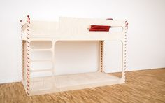 Boxes that can be chairs, stools or tables. Bunk beds for two or for one (leaving plenty of room to play below it). Tables that grow with your children. The perludi's universe is based on the game andfunctionality. RELATED POSTS: Lundia 9 ideas to personalize the Ikea Kura bed Furniture for Kids by Coming Kids …
