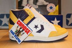 CONVERSE WEAPON VINTAGE LAKERS MAGIC JOHNSON OG 86 87 OG NIKE DUNK FAST  BREAK Converse Weapon b4e4e1fce