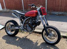 Tracker Motorcycle, Scrambler Motorcycle, Moto Bike, Cafe Moto, Bobber, Dominator Scrambler, Ktm Supermoto, Custom Motorcycles, Custom Bikes
