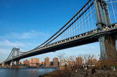 Manhattan Bridge.  New York. Photo by Andy New.