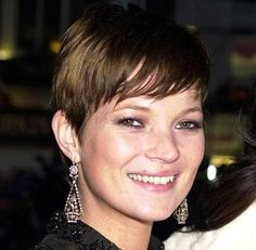 Kate Moss Best Model Short Hairstyle
