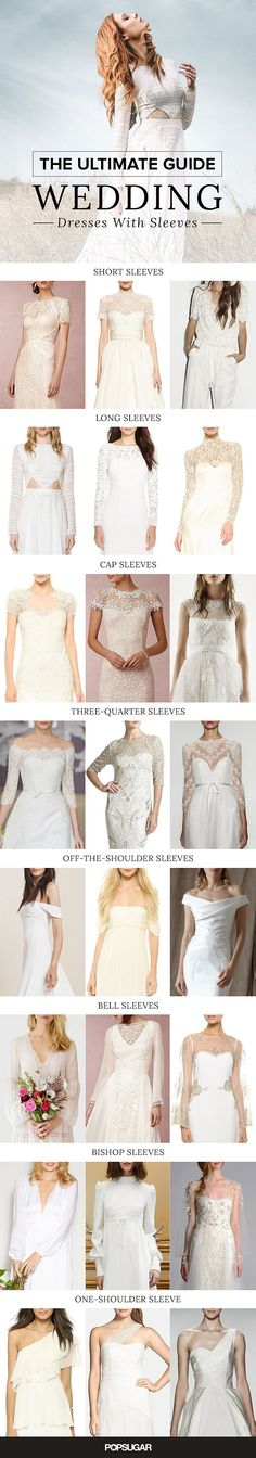 The Ultimate Guide to Wedding Dresses With Sleeves