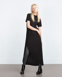 ZARA - WOMAN - ASYMMETRICAL LONG DRESS