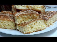 Sremačka razljevuša Albanian Food, Albanian Recipes, Bosnian Recipes, Bread And Pastries, Macaroons, Banana Bread, Gluten, Cheese, Bakken