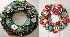 manualidades navideñas con material reciclado faciles - Buscar con Google