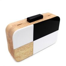 Black and White Designer Handmade Wooden Women Evening Box Clutch Purse Acrylic Solid Bag Chain Women's Cross-body Handbag     Tag a friend who would love this!     FREE Shipping Worldwide     Get it here ---> http://fatekey.com/black-and-white-designer-handmade-wooden-women-evening-box-clutch-purse-acrylic-solid-bag-chain-womens-cross-body-handbag/    #handbags #bags #wallet #designerbag #clutches #tote #bag