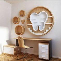 Dental Clinic Logo, Dentist Clinic, Dental Braces, Dental Care, Dental Office Decor, Medical Office Design, Healthcare Design, Clinic Interior Design, Clinic Design