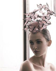 Halloween Gala Celebration..Butterfly Hat!