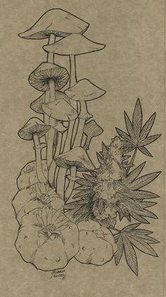 #Mushroom #Ink
