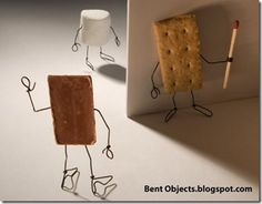 Horror S'morer - BENT OBJECTS by terry border